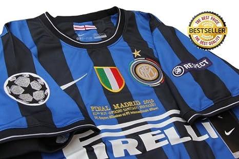watch 2cfe1 3077d Rare Inter Milan Final UCL 2010 Embroidery Football Shirt ...