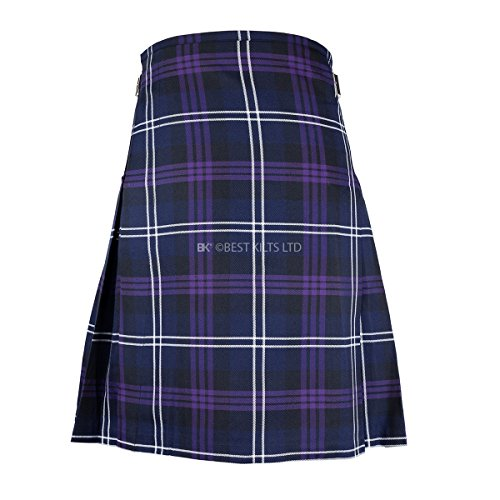 "(Best Kilts Men's Scottish 5 Yard Party Kilt Heritage of Scotland 34""-36"")"