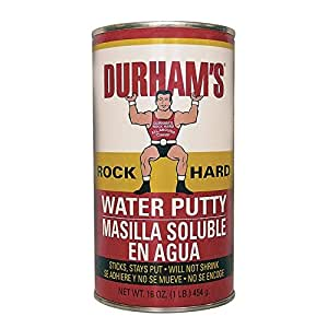 Durham Donald Co Lb Wtr Putty 168 Wood Putty