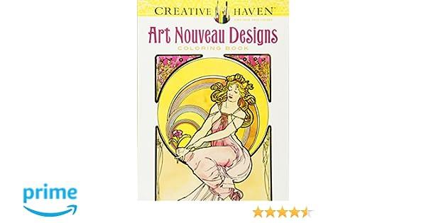 Creative Haven Art Nouveau Designs Coloring Book Creative Haven ...