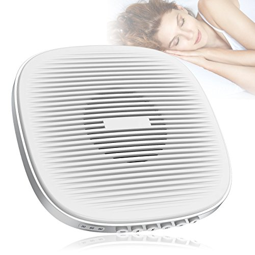 White Noise Machine, Yosoo Sound Machine for Sleeping 20 Nature Sounds Sleep Therapy Noise Machine with Memory Function 3 Timer Modes for Better Sleep in Home Office Travel -