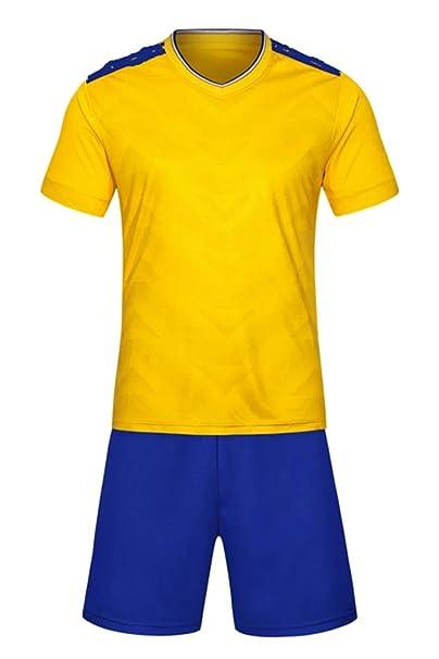 XFentech Niños y Adultos Hombre Voleibol de fútbol de Trajes de Deporte de Manga  Corta  Amazon.es  Ropa y accesorios b881eaab71e3c