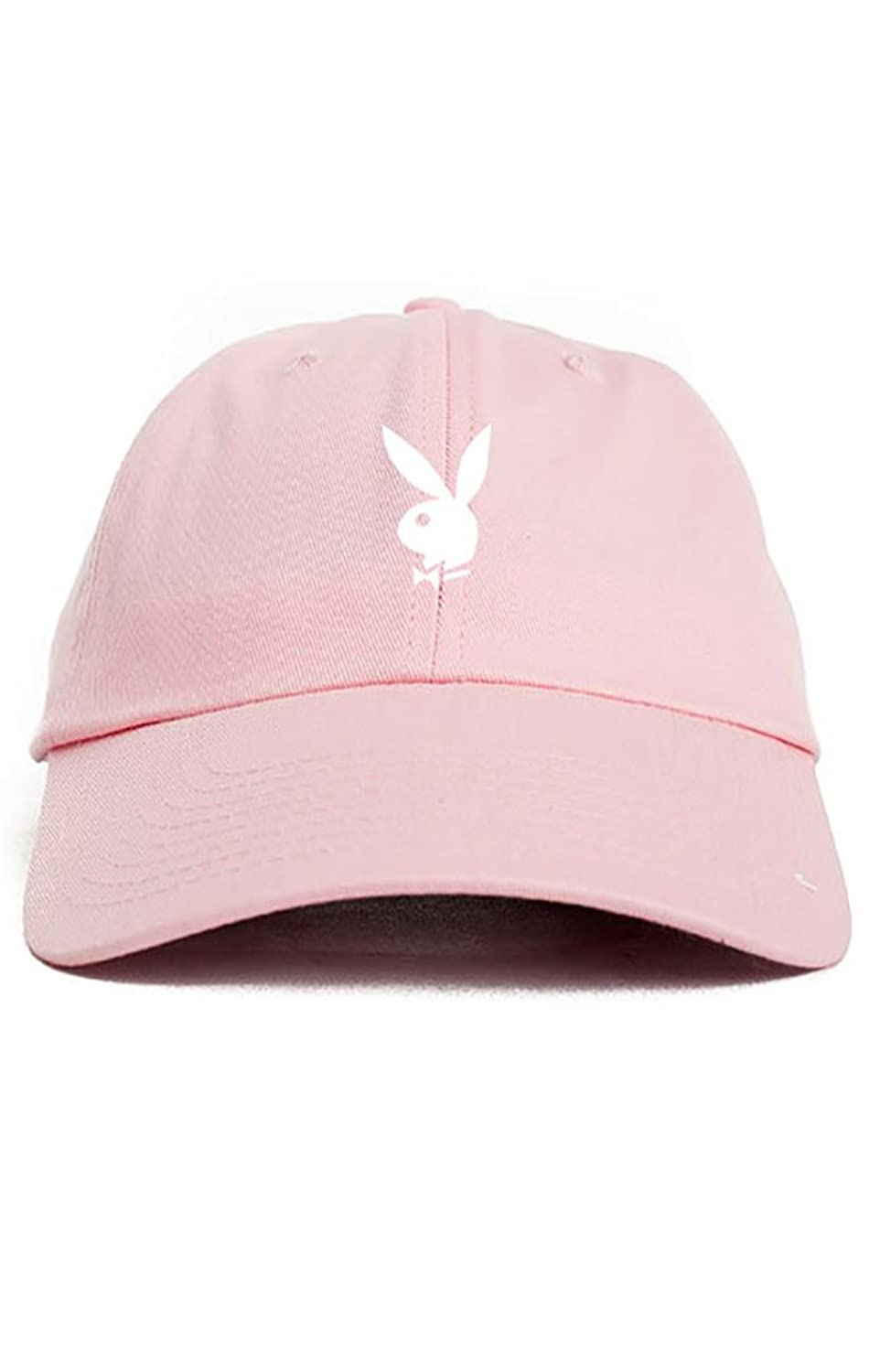 d4d68fec27c Playboy Bunny Unstructured Dad Hat-Pink at Amazon Men s Clothing store