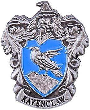 FomCcu Insigne nsigne de Broche en Forme de Broche en m/étal de la Maison de Poudlard Hogwarts Harry Fans