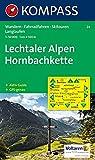 Lechtaler Alpen, Hornbachkette: Wander-, Rad-, Skitouren- und Langlaufkarte. GPS-genau. 1:50.000