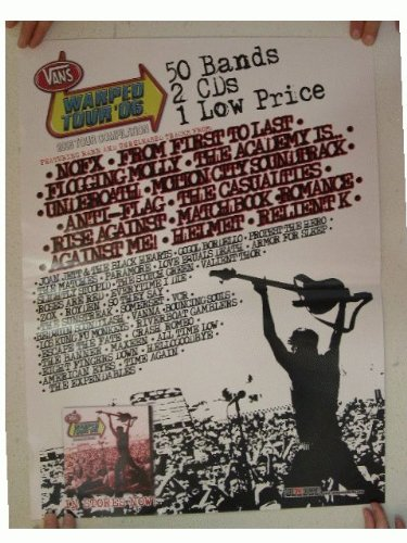 NOFX Flogging Molly Anti-Flag Poster Warped Tour
