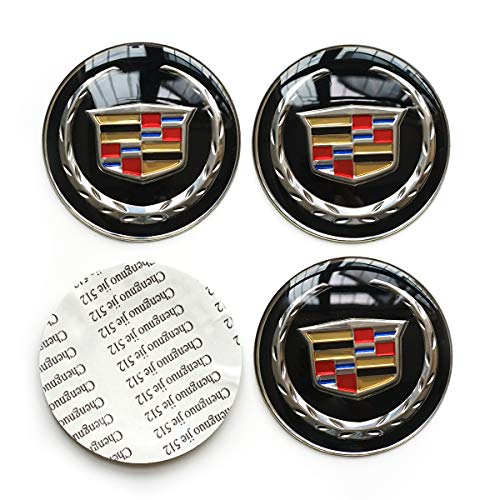 4PCS 65MM 2.56 Auto Car Styling Accessories Emblem Badge Sticker Wheel Hub Caps Centre
