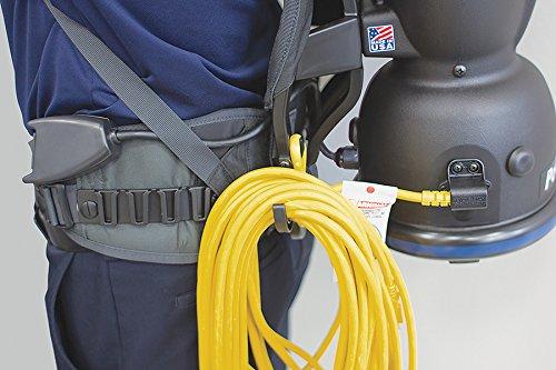 Powr-Flite BP10S ComfortPro Standard Backpack Vacuum 10 quart Capacity Tacony Corporation