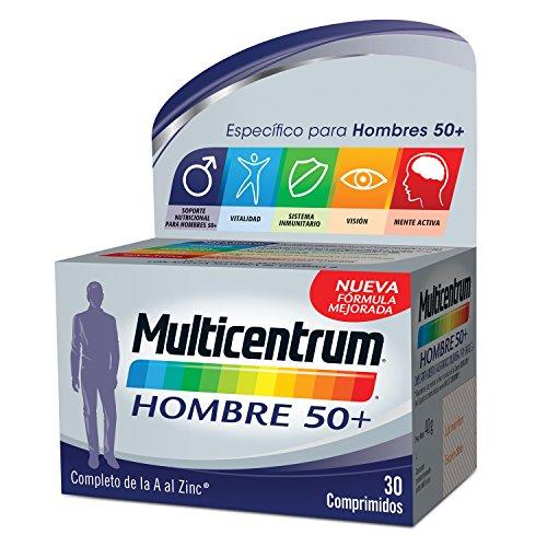 Multicentrum Hombre 50+ - 30 comprimidos: Amazon.es: Salud y cuidado personal