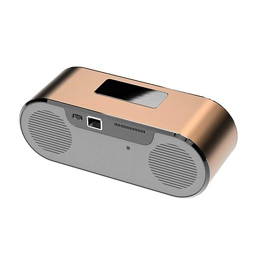 MXQH Proyector Portable de HD LED, proyector de la Oficina 1080P ...