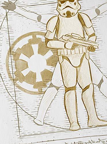 Blanc Da T Vinci A Galactique t Enfants Pour n Vitruve Storm shirt Trooper De qCOYqwP