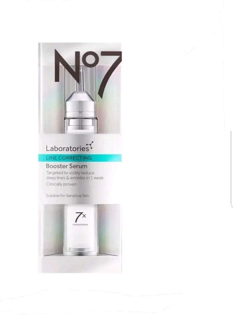 Boost No7 Laboratories LINE CORRECTING Booster Serum 15ml 0.5oz by No. 7