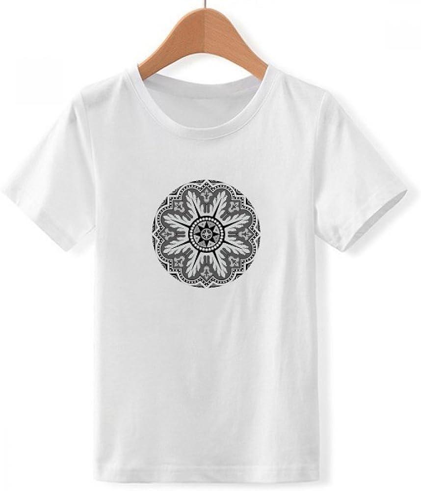 DIYthinker Patrón de Estilo árabe tripulación Cuello Camiseta para Chico: Amazon.es: Ropa y accesorios