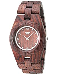 Wewood Women's Odyssey ODYSSEY-BROWN Brown Wood Analog Quartz Watch with Brown Dial