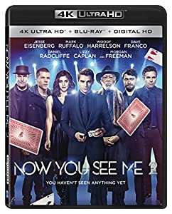 Cover Image for 'Now You See Me 2 [4K Ultra HD + Blu-ray + Digital HD]'