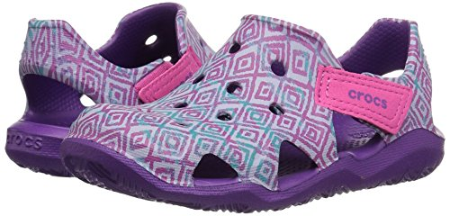 Pictures of Crocs Kids' Swiftwater Wave Graphic Sandal * 4