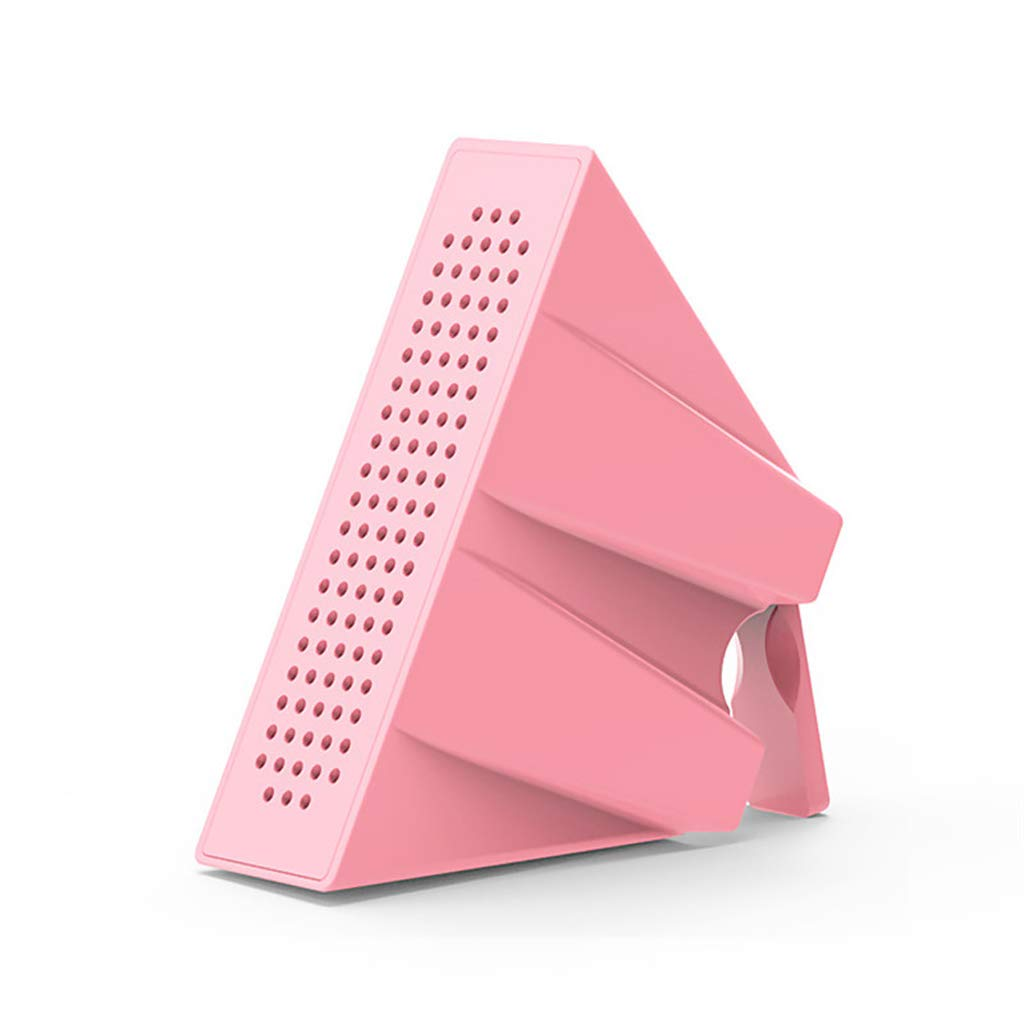 Hai Yan Mobile Phone Holder Cell Phone Stand - New Plastic Sound Amplifier Audio Speaker Holder Bracket Stand for Mobile Phones (Color : Pink) by Hai Yan
