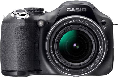 Casio Japan Exilim Ex-fh25 10.1 Megapixel Bridge Camera - Black