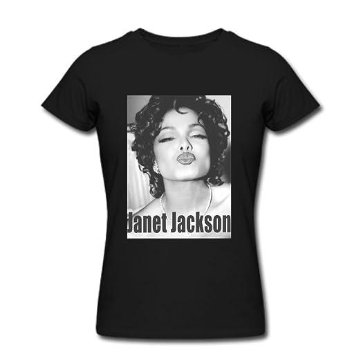 244c41db1 Amazon.com: Women's Janet Jackson Kiss photo T shirts XXL ...