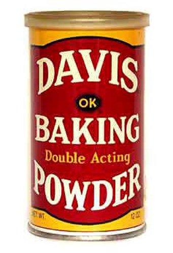 Davis Baking Powder, 8.1-Ounce (Pack of 6)