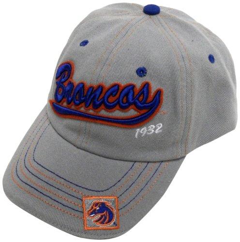 NCAA Boise State Broncos Gray Applique (Broncos Ncaa Applique)