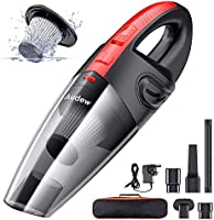 Audew Handheld Vacuums Cordless, Portable Handheld Vacuum Cleaner with Powerful Suction, 120W Rechargeable Car Vacuum...