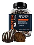 The Protein Works, Diet Protein Truffles, High Protein, Freshly Made Diet Snack, Millionaire's - 450 g