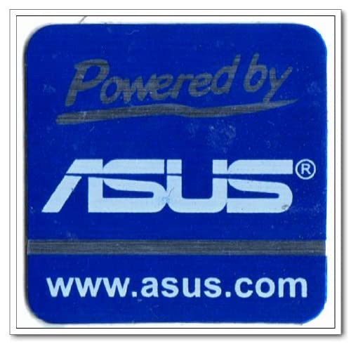 Amazon.com : ASUS Powered by Logo Stickers Badge for