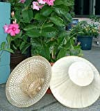 Thai Farmer Hat -Hand Woven Palm Leave/bamboo Hat