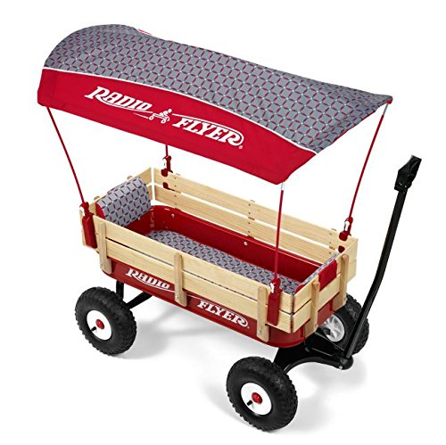 Radio Flyer Personalized Steel and Wood Wagon - Luxe