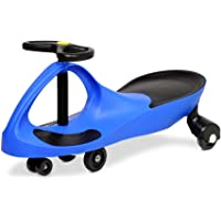 Keezi Swing Car Swivel Slider Kids Ride On Toy Stable Wiggle Scooter Safe Speed