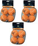 (3 Pack) Hyper Pet Orange (Mini) Tennis Balls for Dogs, 4 Balls each For Sale
