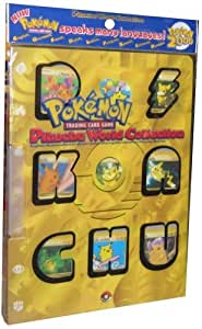 Pokemon Pikachu World Card Collection by Jakks Pacific
