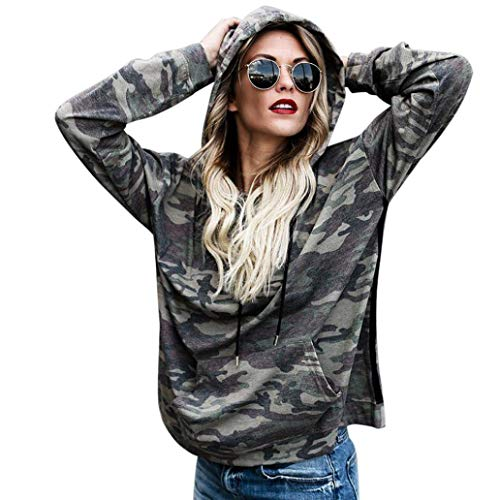 Sweatshirt Hoodie MITIY Lady Fashion Long Sleeve Women Camouflage Blouse Tops