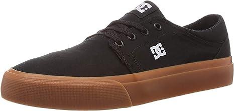 DC mens Trase Tx Skate Shoe, Black/Gum