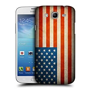 AIYAYA Samsung Case Designs United States Of America USA Vintage Flags Protective Snap-on Hard Back Case Cover for Samsung Galaxy Mega 5.8 I9150 I9152
