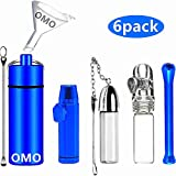 OMO Snuff Bullet Kit(6 pack) Snuff Bottle with