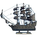 Hampton Nautical  Flying Dutchman Pirate Ship, 14""