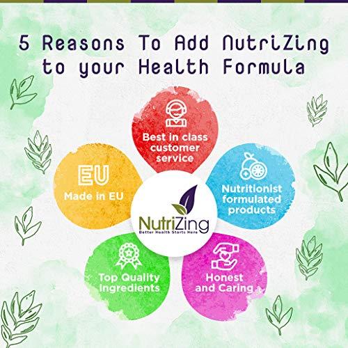 Suplemento de Aceite de Cáñamo por NutriZing. Fácil de Tragar, Contiene Omega 3 y Omega 6. 1000 mg de Alta Potencia y Prensado en Frío de las Semillas para ...