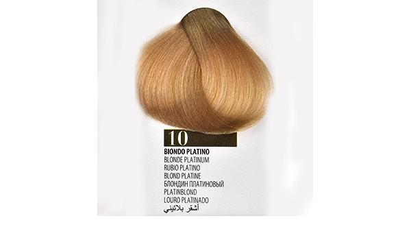 Tinte Cabello 10 Rubio Platino farmagan Hair Color no ...
