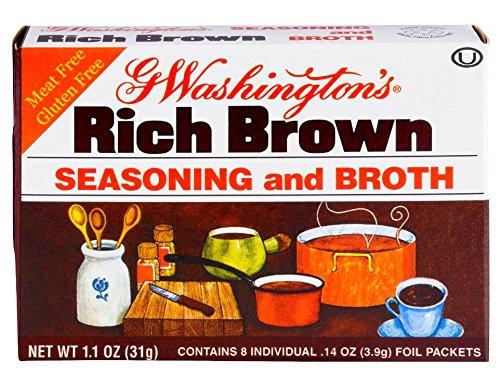 George Washington Broth, Brown, 1.1-ounces (Pack of 24) by George Washington