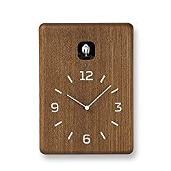 Lemnos Men's Cucu Cuckoo Clock, Brown, One Size