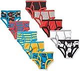 Amazon Brand - Spotted Zebra Boys' Toddler & Kids 10-Pack Brief Underwear