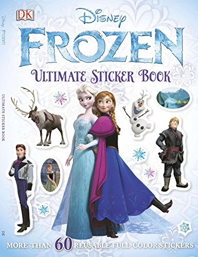 Ultimate Sticker Book: Frozen: More Than 60 Reusable Full-Color Stickers]()