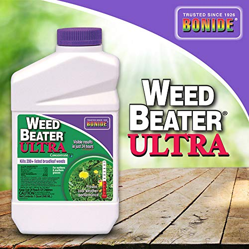 Bonide (BND310) - Weed Beater Ultra, Weed Killer Concentrate (32 oz.) (Best Weed Killer On The Market)