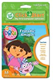 : LeapFrog ClickStart Educational Software Dora the Explorer Friends ¡Amigos!