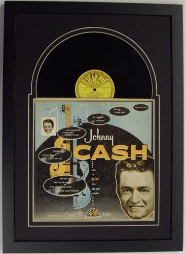 Record Album Frame Featuring Black