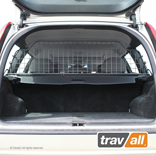 Travall Guard Compatible with Volvo V70 Wagon (2000-2007) Also for Volvo XC70 (2000-2007) TDG1242 - Rattle-Free Steel Pet Barrier