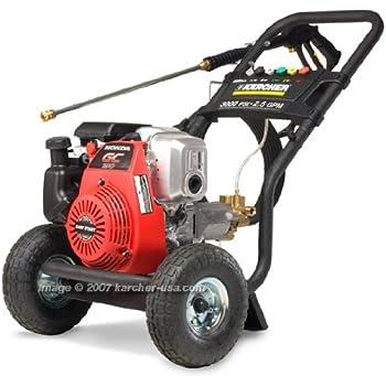 pressure karcher gas washer honda gc190 powered pro 3000psi series amazon