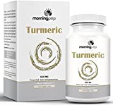 Cheap TURMERIC CURCUMIN 650 mg Supplement 120 Vegi Caps By Morning Pep with Bioperine Added For Better Absorption